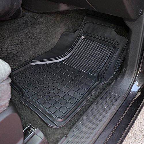 Motor Trend Flextough Custom Liners Heavy Duty Rubber Floor Mats