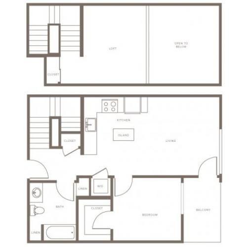 1 Bed 1 Bath Apartment In Glendale Ca Modera Glendale Bedroom Floor Plans Luxury Apartments 2 Bedroom Floor Plans