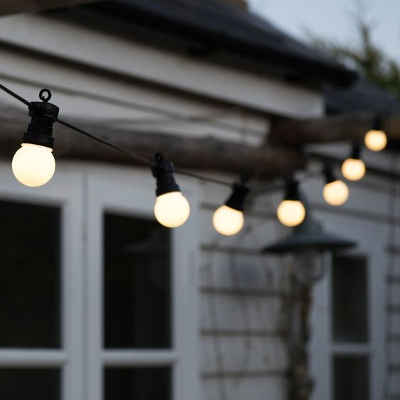Christmas Festoon String Lights | i love retro