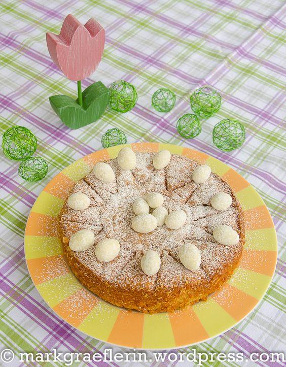 Mallorquinischer Mandelkuchen 3