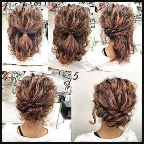 20 Grosse Kurze Haare Hochsteckfrisur Zu Jedem Anlass Zu Versuchen Einfache Frisuren Simple Prom Hair Short Hair Tutorial Hair Styles