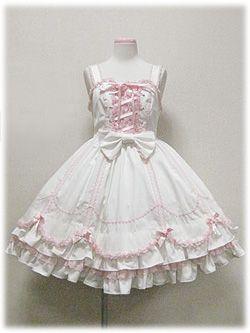 angelic pretty クラシカルスカラップDollジャンパースカート