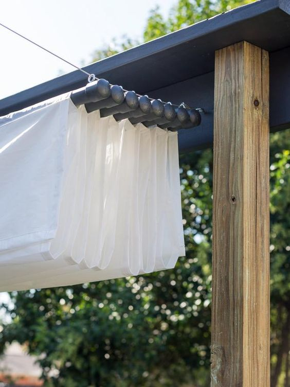 How To Build A Retractable Canopy. Diy AwningAwning PatioPergola ...