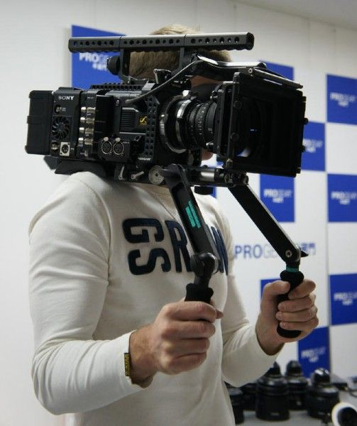 Camera mounted on porn