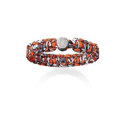 pink ostrich birkin bag - Kid Hermes silk bracelet (size S) Orange silk twill<br /><br ...