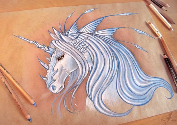 """""""Frozen tears by AlviaAlcedo on deviantART"""" (this *needs* to be a tattoo <3 )"""