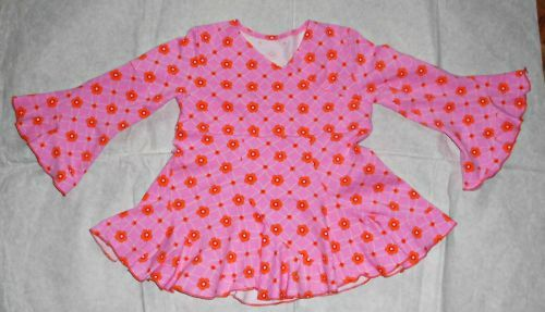 Jersey-Bluse aus Lillestoff Gr. 110/16