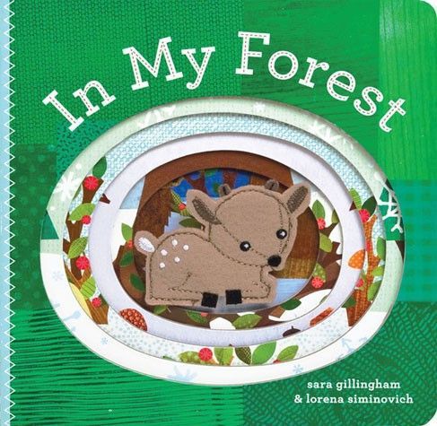 In My Forest Finger Puppet Board Book