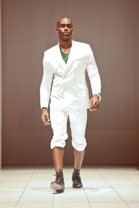 Jo Black Craze @afwny 2011 #fashion #africanfashion #pr #luxury #africafashionweek #newyork #ny #menswear #streetstyle #blazers in #ny