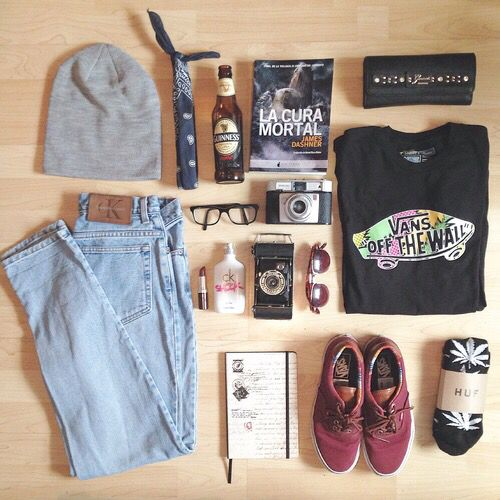 Hipster Indie Tumblr Grunge Outfit Style Fashion Clothes Clothing Polyvore Shirt Sweater Jeans ...