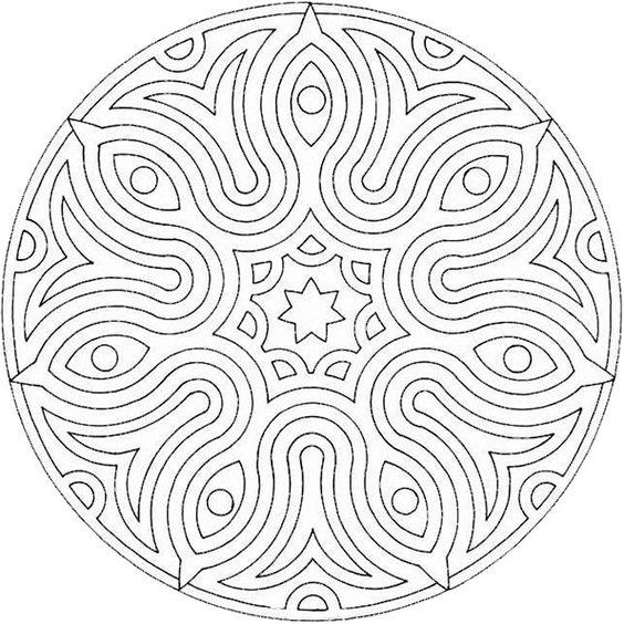 mandala malvorlagen kostenlos 02 | Printables | Pinterest | Mandalas