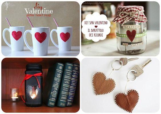 Idee romantiche fai da te per San Valentino.