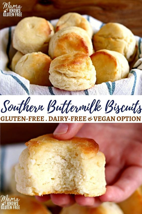 Gluten-Free Buttermilk Biscuits {Dairy-Free Option}