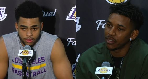 #LALakers #NBA trade rumors hit #DAngeloRussell & #NickYoung again #SwaggyP #MovieTVTechGeeks
