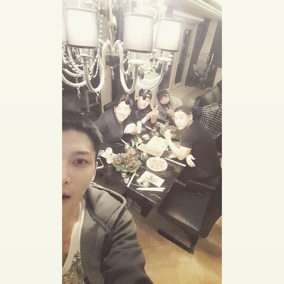 Farewell Family Dinner at Jaejoong's Parents House (150331)