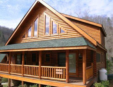 love the log cabin