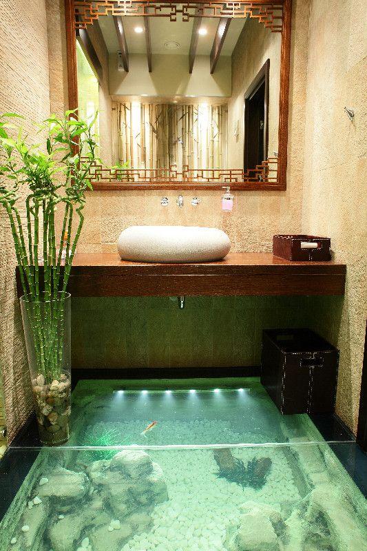 Pinterest the world s catalog of ideas for Floor fish tank