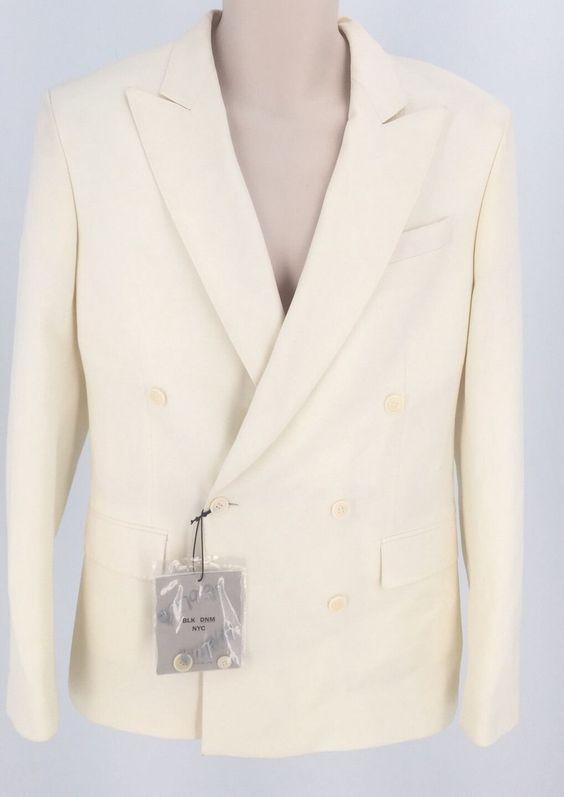 Blk DNM NYC Off White Mens Blazer SZ48 $280 | eBay