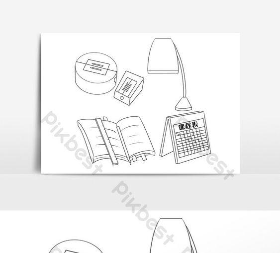 21 Gambar Meja Kartun Hitam Putih Handpainted Gambar Garis Hitam Dan Putih Alat Pendidikan Download Wallpaper Gambar Kartun Hitam Puti Gambar Kartun Hitam