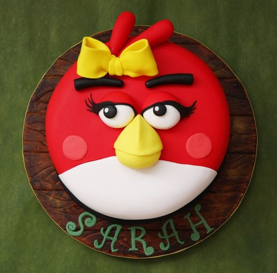 angry bird cake http://cakecentral.com/gallery/2202240/angry-bird-girl
