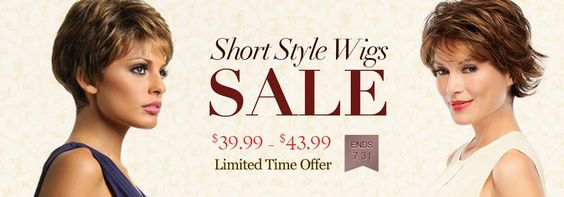 SHORT STYLE WIGS SALE ($39.99-$49.99)  LIMITED TIME OFFER [ENDS 7.31]