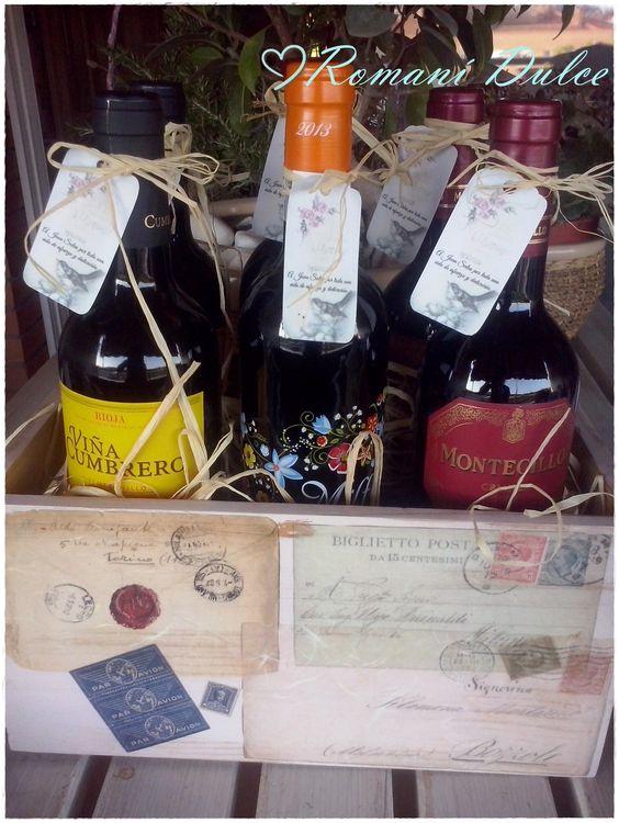 Mis manualidades caja de madera para vinos personalizada - Manualidades caja de madera ...