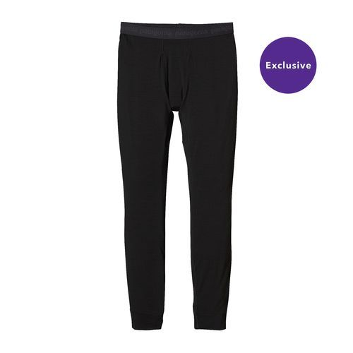Tom -- skiing baselayer bottoms (Patagonia Merino Midweight Bottoms, Black (M/L))