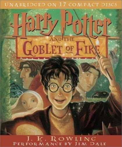 Bestselling Sci-Fi/ Fantasy (2006) - Harry Potter and the Goblet of Fire (Book 4) by J.K. Rowling      I bet he's Gobblin' something.....eeeewwwww