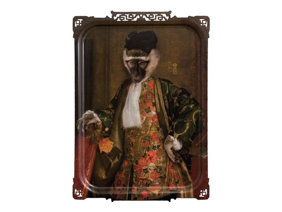 ibride Cornelius The Monkey Gentleman Tray