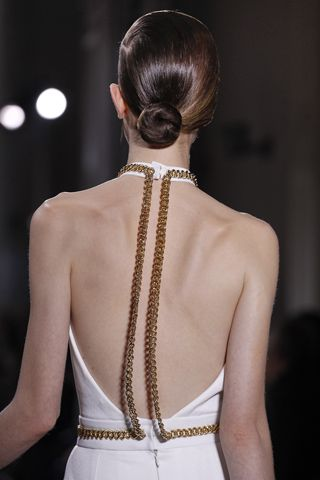 Yves Saint Laurent Sexy lovely back. Ladies fashion styles. Beautiful and gorgeous