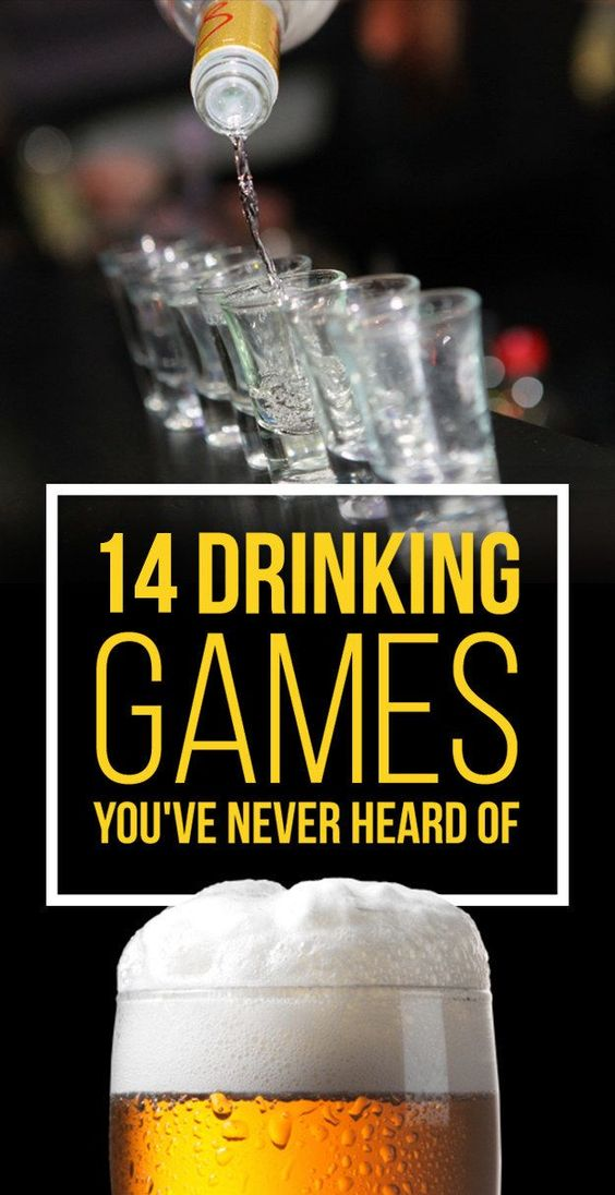14 Insanely Fun Drinking Games You've Never Heard Of ...