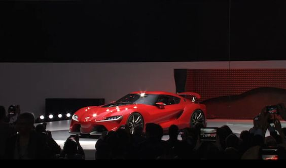 The New Toyota 'Supra' Has Been Revealed