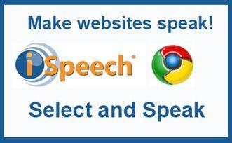 Cómo hacer que la web te hable