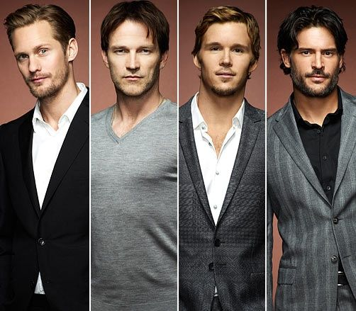 with leading men looking like this, its a wonder this show gets anywhere plot-wise.
