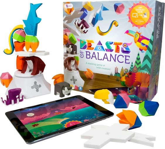 This is where the fun starts! Beasts of Balance includes an electronic Plinth and 24 beautiful Artefacts designed to stack in fun and surprising ways. Played solo or with a group of friends and family, Beasts of Balance blends challenging gameplay with conjuring beautiful worlds on your tablet or phone. With over 100 fabulous beasts to discover you'll always want one more go!
