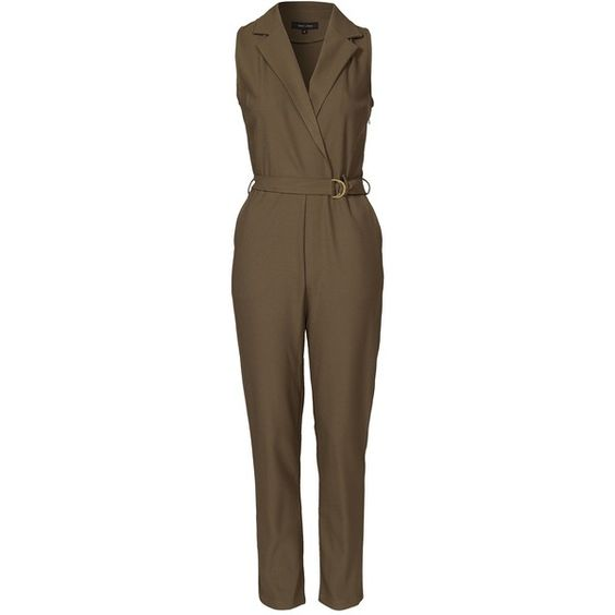 Luxury Jumpsuits For Women Mink Pink Womens Maverick Jumpsuit In Khaki