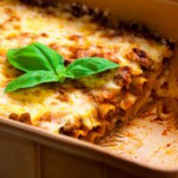 Olive Garden's 5 cheese lasagna
