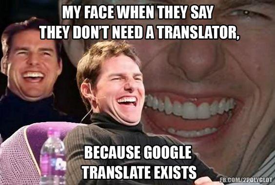 Do you have the same one? #polyglotfun #translation #google #freelance
