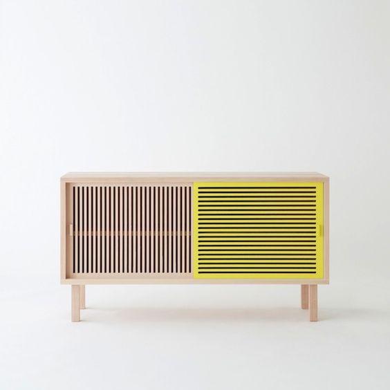 Kyoto Buffet designes by Isabelle Gilles et Yann Poncelet| designer furniture