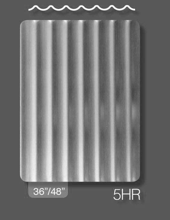Rigidized Stainless Steel Pattern 5hr