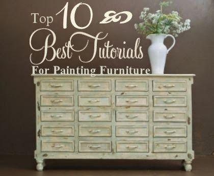 10 Best Tutorials for Painting Furniture | HomeSpun-Threads