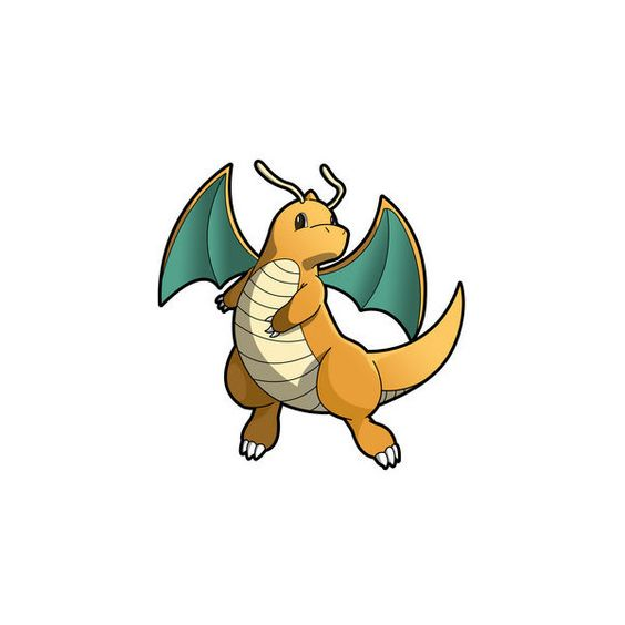 pokemon dragonite ❤ liked on Polyvore