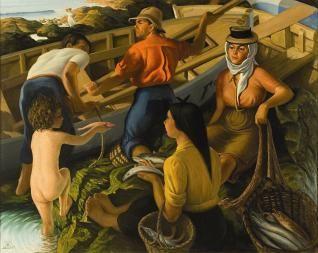 Los principales artistas canarios del siglo XX vuelven a La Laguna - La Opinión de Tenerife www.laopinion.es318 × 253Buscar por imagen Pescadores, de Pedro Guezala. lot