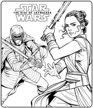 Nice Coloring Page Star Wars The Rise Of Skywalker On Kids N Fun Cool Coloring Pages Star Wars Coloring Sheet Star Wars Colors
