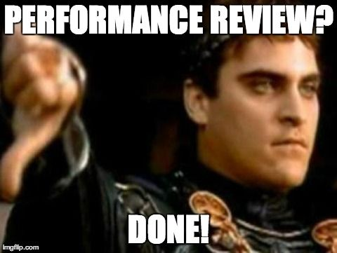 That power thing makes performance reviews easy - Imgflip - performance reviews