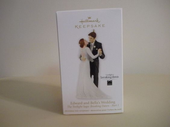 Hallmark Keepsake Ornament Edward Bella S Wedding Christmas Ornaments Collectibles Pinterest