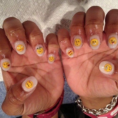 Emoji Nail Art And Some New Kit From Moyou: Nail Art Designs, Nail Art And