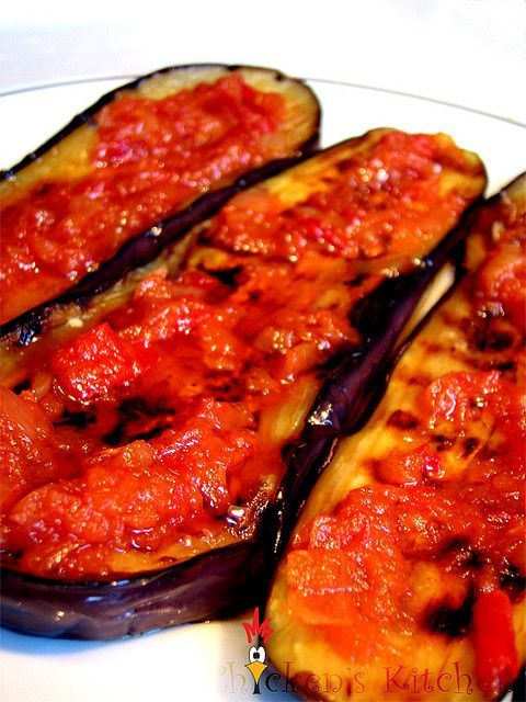Indonesian Hot Spicy Eggplant Recipe Terong Balado Spicy Eggplant Eggplant Recipes Recipes