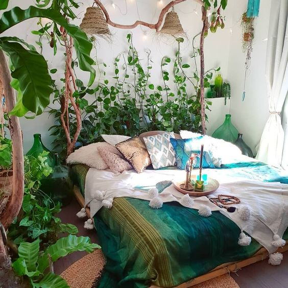 Bohemian bedroom decor has become one of the most coveted aesthetics on Pinterest and Instagram, but it's surprisingly hard to curate. Here, 57 bohemian bedroom decor ideas to spark your aesthetic imagination.