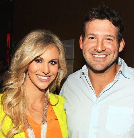 Tony Romo and Candice Crawford are basically the prototypical football couple, no?
